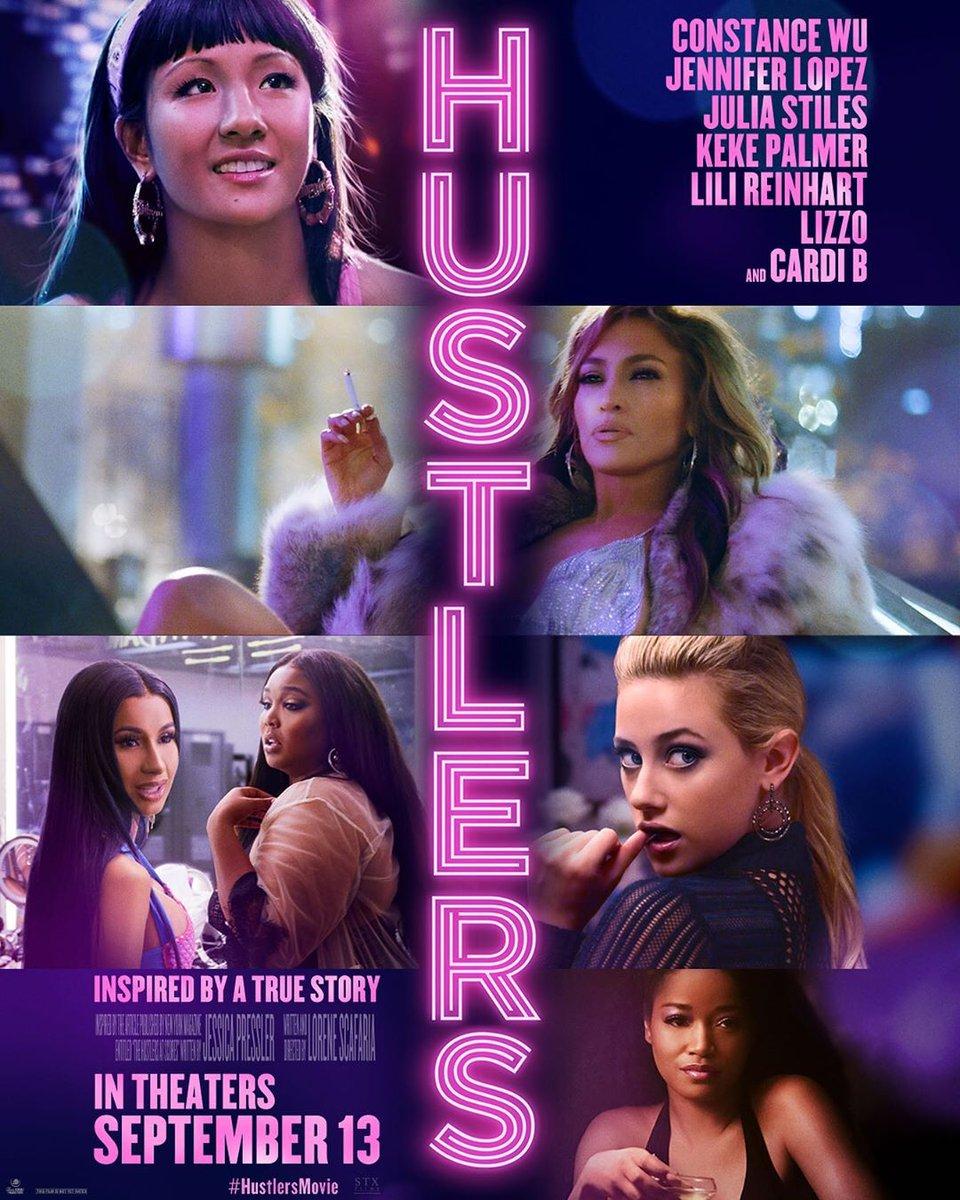 Who else is ready to see these fierce ladies in @HustlersMovie?   @ConstanceWu   @JLo   @missjuliastiles   @kekepalmer   @lilireinhart   @lizzo  &  @iamcardib   #HustlersMovie  <br>http://pic.twitter.com/bVKRLUhCr2