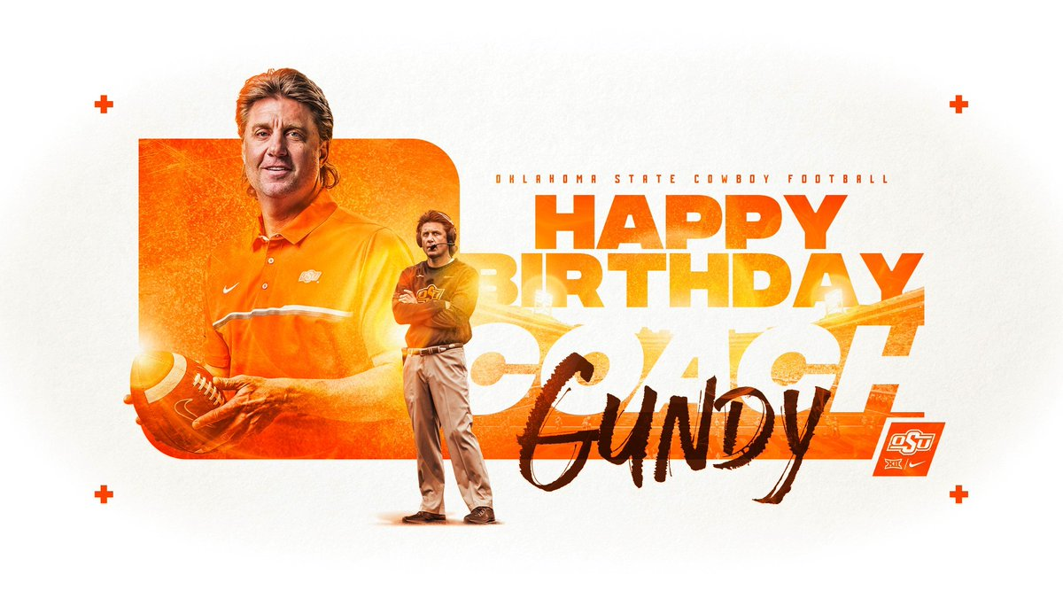 The man, the mullet, the legend.  Happy birthday, @CoachGundy!   #okstate #GoPokes <br>http://pic.twitter.com/xElUMx6YyB