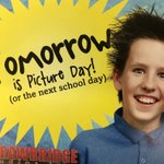 Image for the Tweet beginning: Picture Day is Wednesday, 8/14.