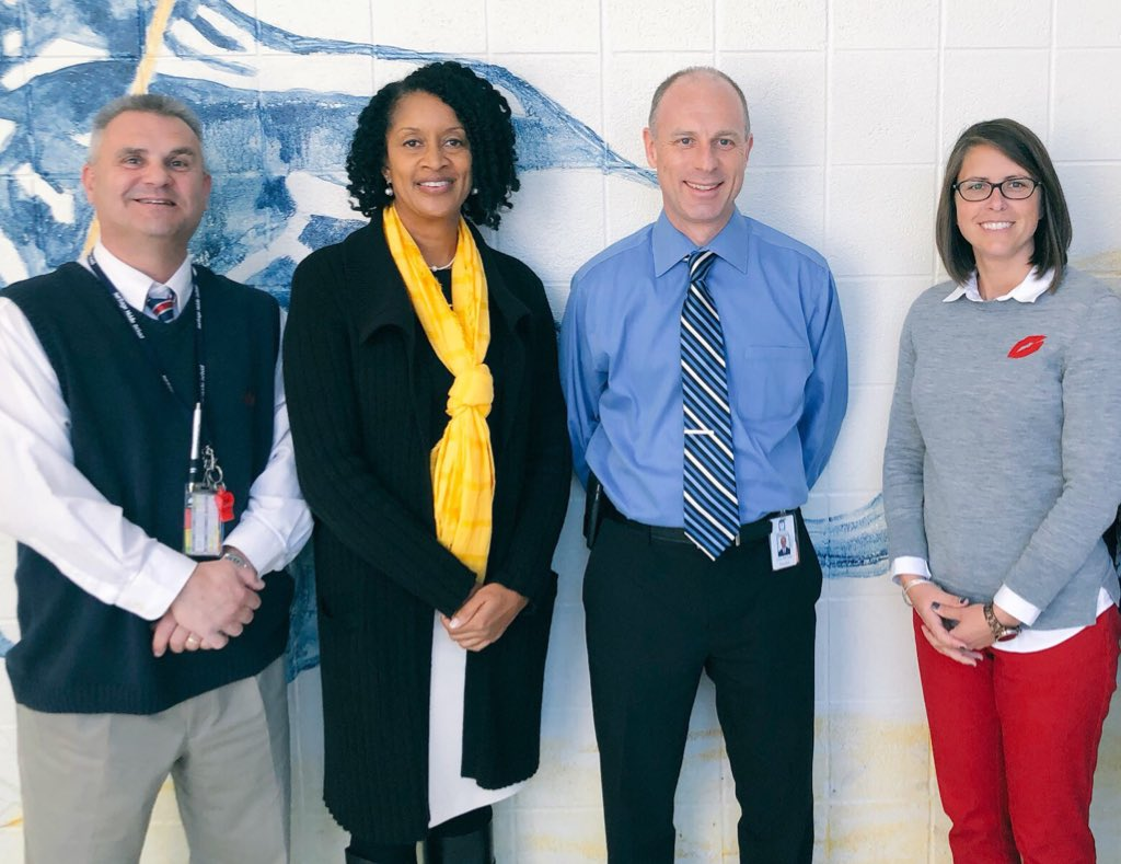 Congrats to @CMcCabeWCPSS @HeritageMiddle1 who was named a semifinalist for 2019-20 Principal of the Year! Much deserved for someone who humbly serves his school community. #TheHeritageWay <br>http://pic.twitter.com/DT22tw2CET