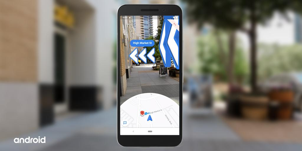 Let AR guide you every step of the way. Live View puts ⬆️⬅️⬇️➡️ in the real world to help you navigate unfamiliar places. The beta feature is now available on #Android devices supporting ARCore.