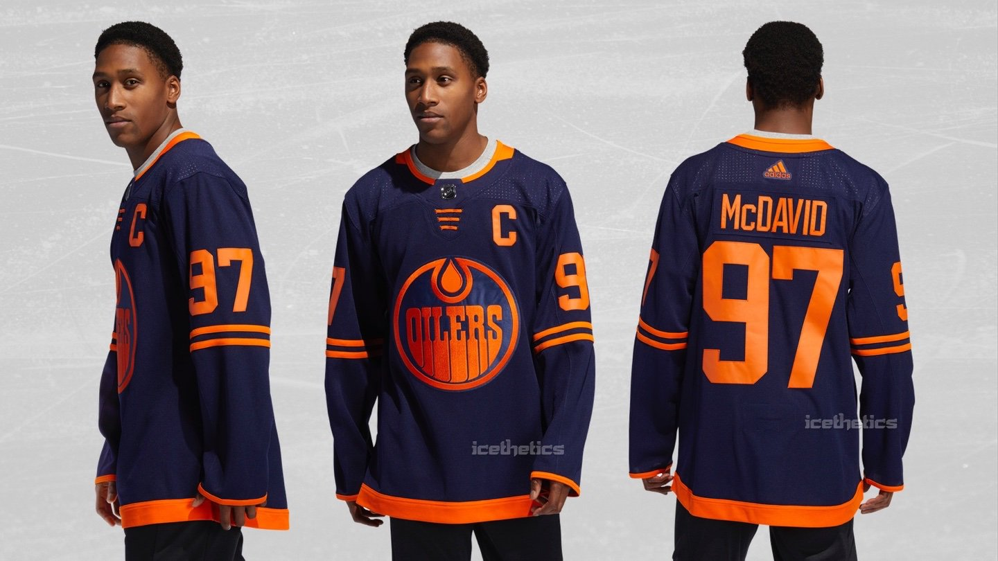 new style b345e 03310 Edmonton Oilers Third Jersey Leaks | The Sports Daily