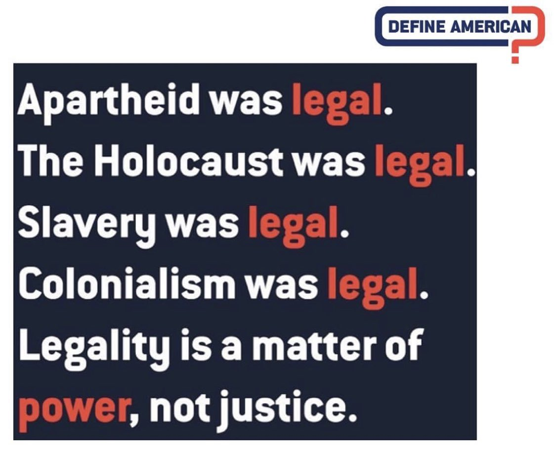Remember: Trump administration's policies on immigration—from #DACA, #refugees to #PublicCharge—is and was never about legality.   @DefineAmerican<br>http://pic.twitter.com/C3DYqPz5cn