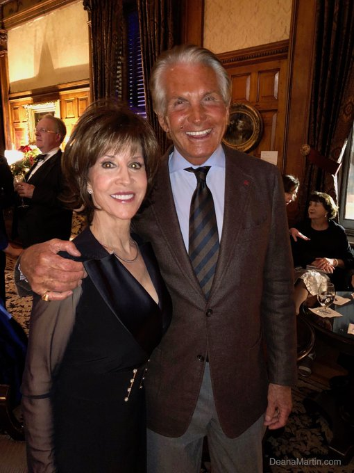 Please join us in wishing a very Happy birthday to our dear friend George Hamilton. Happy Birthday George!