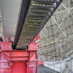 Image for the Tweet beginning: 100 meters aperture, 3,200 tons,