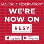 Image for the Tweet beginning: Making a reservation? We're now