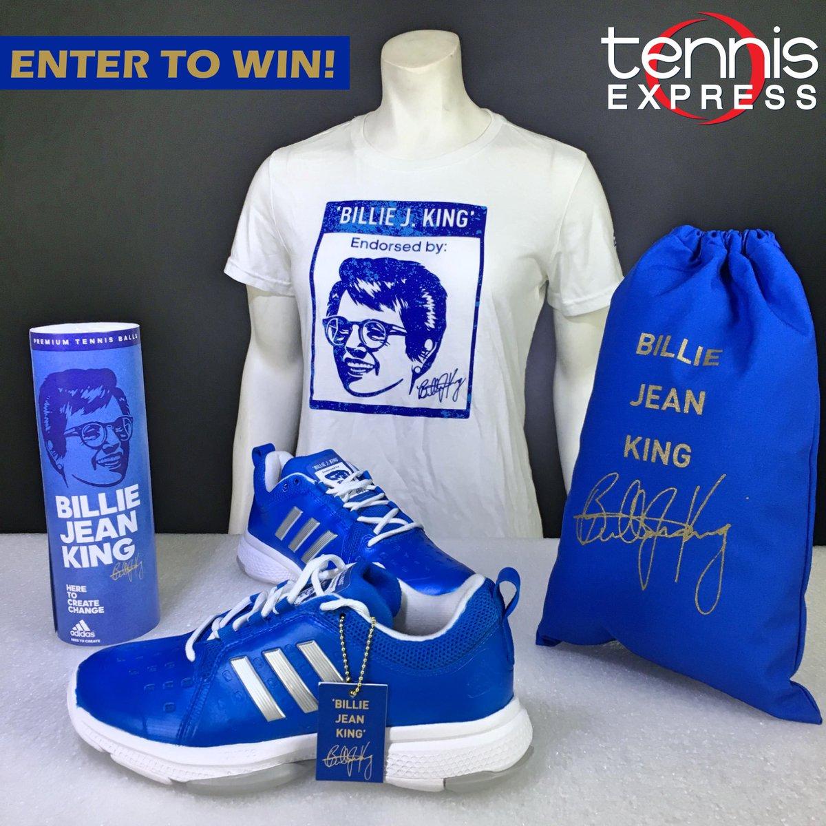 billie jean king adidas shirt