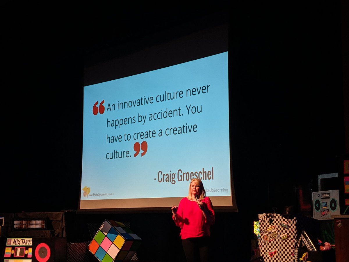 Unleash creativity! Thanks for sharing tips on Shaking Up Learning! @ShakeUpLearning #ourWHY