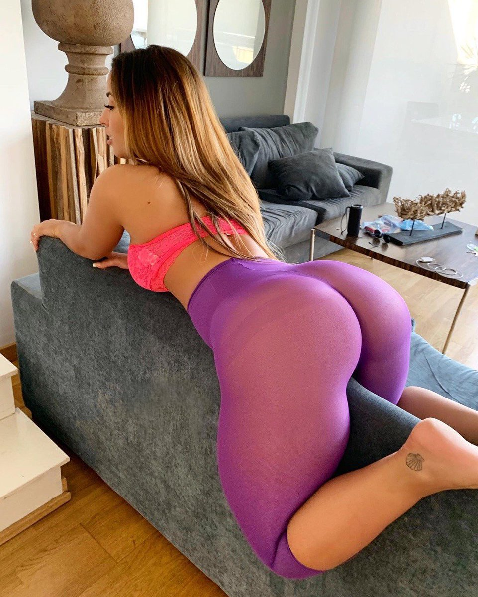 Sexy asses in yoga pants
