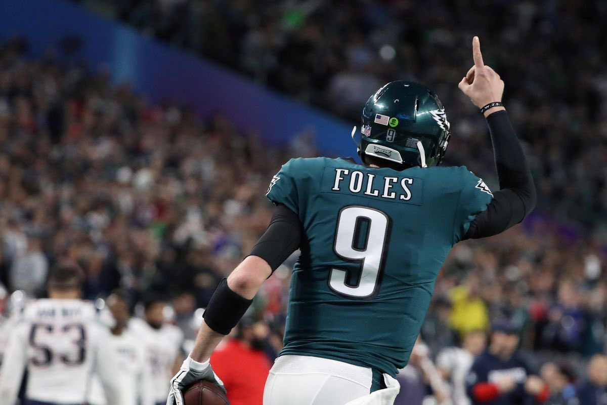 RT @PHLEaglesNation: Friendly reminder that Nick Foles is still the last QB to throw a touchdown in the Super Bowl. https://t.co/uIgCt3KHOz