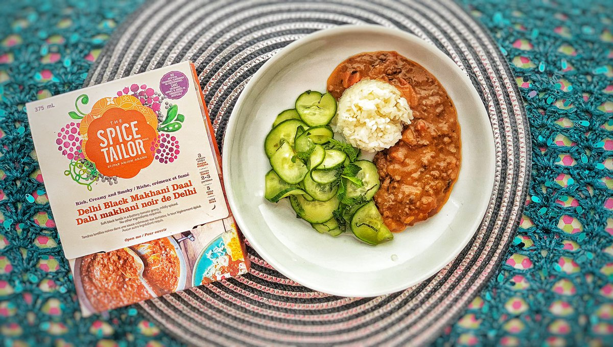 Makhani Daal is a buttery, creamy black lentil curry with sweet & smoky spices! I gave @Anjum_Anand's @TheSpiceTailor version of the dish & added fresh tomato as suggested; delicious!   #MeatFreeMonday #MeatlessMonday #indianfood #canadianchef https://t.co/RDoRFO1vuu