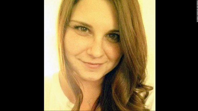 Remembering when, on this date August 12 in 2017, Heather Heyer was murdered in Charlottesville, Virginia. #NeverForget #TrumpBodyCount<br>http://pic.twitter.com/eN6LUJev2T