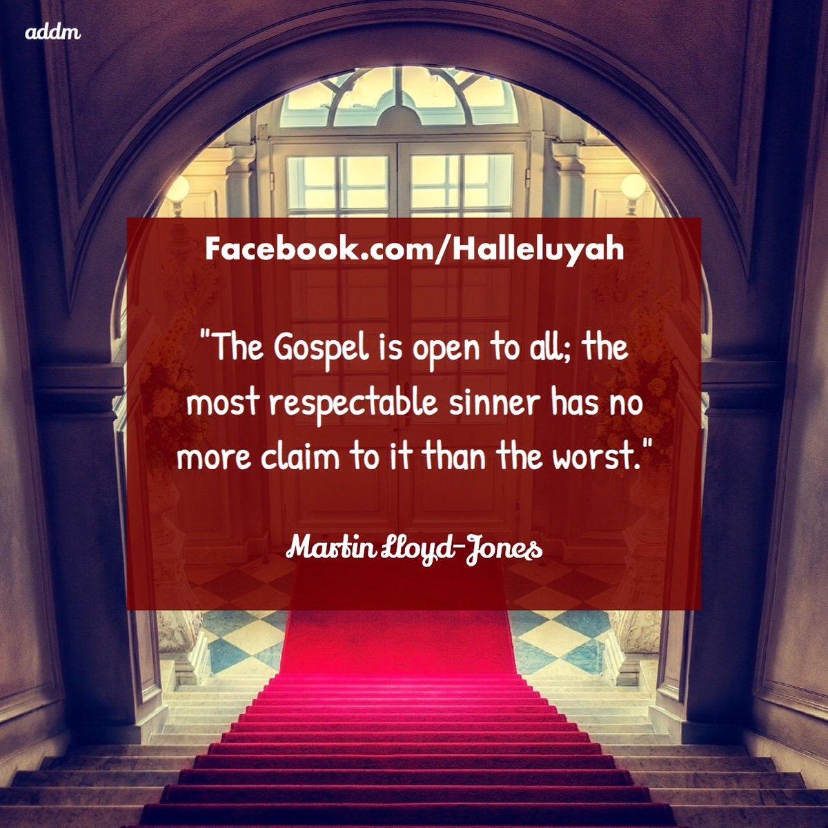 Halleluyah #MartinLloydJones #Quotes #English #Gospel