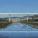 Image for the Tweet beginning: Un ponte di luce abbraccia