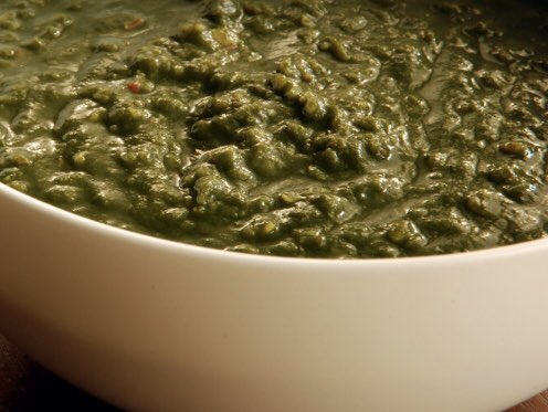 @KingGabekirksey It's lentils and spinach