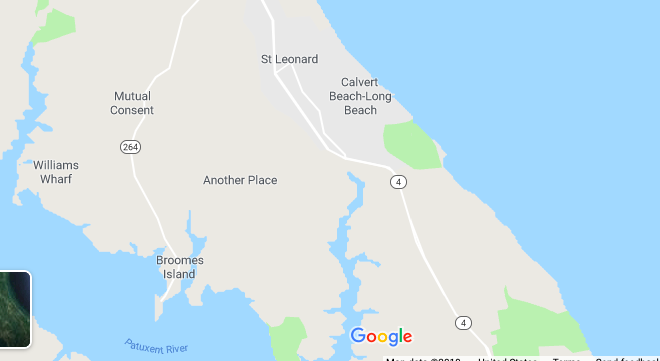 Hurrah to the town of Mutual Consent, Maryland (up the road from Another Place)