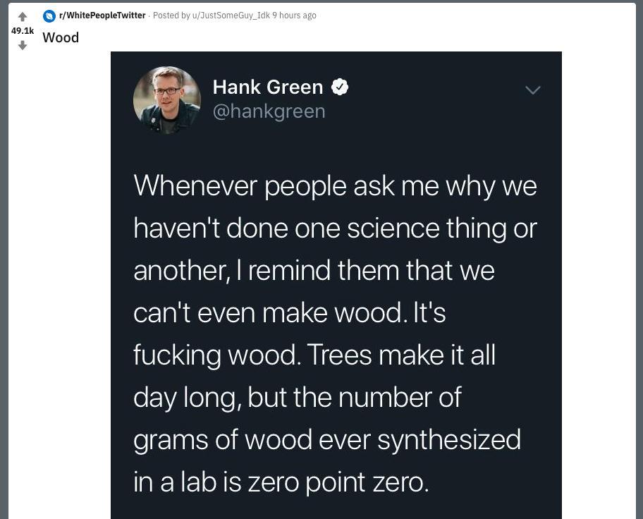 Hank Green on Twitter:
