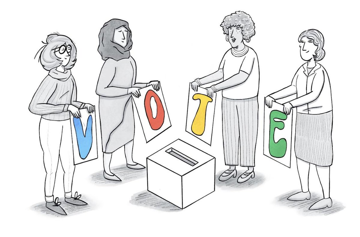 Later this week, the U.S. marks a historic anniversary in the suffrage movement: ratification of the #19thAmendment, which gave American womenthe right to vote.