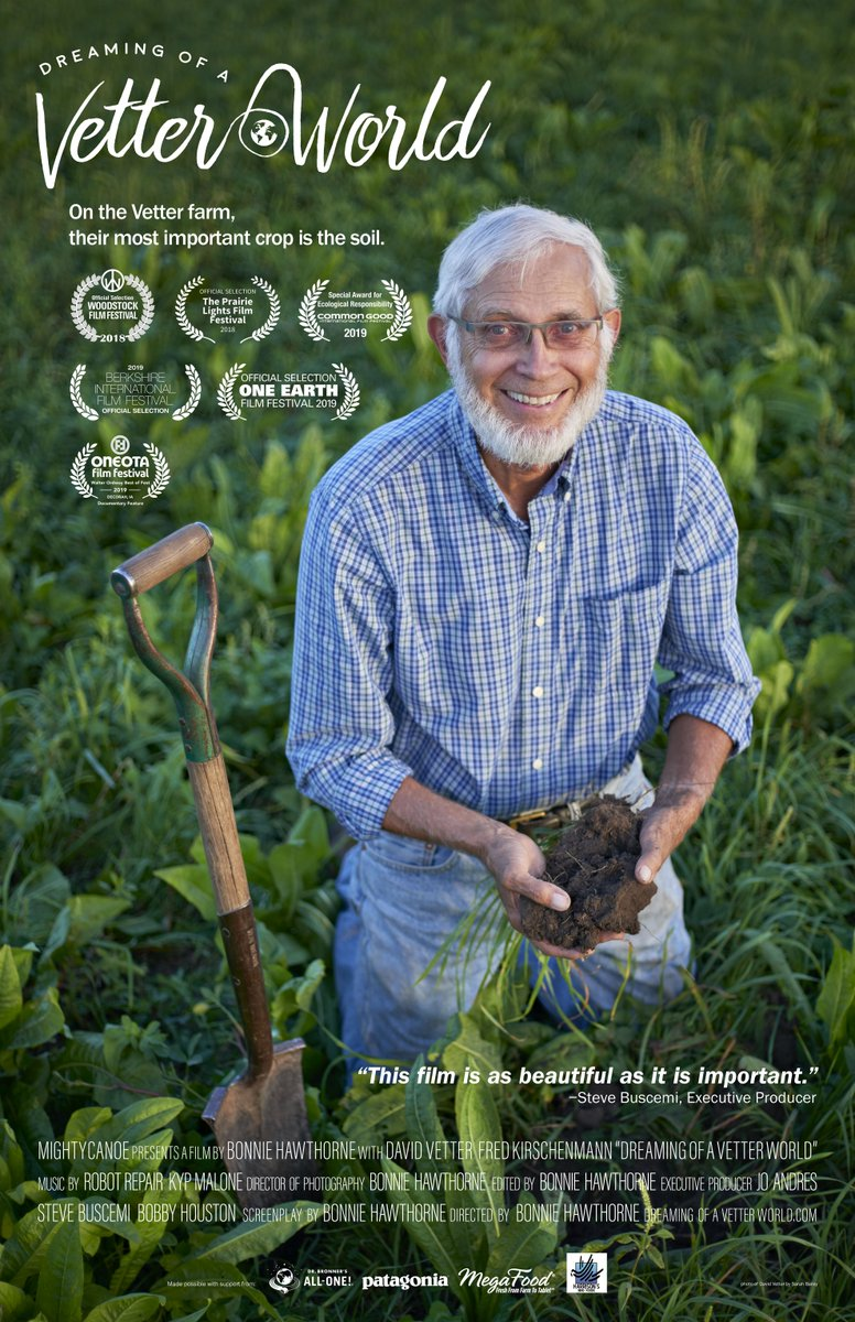 """Haven't there already been a lot of films made about agriculture? Yes. Were also currently up to Sharknado 6. If we can bear SIX films about tornados that rain sharks, we can stand a few docs on the most important topic of our time"""" - @DOAVW @BIFFMA bit.ly/basilicavetter…"""