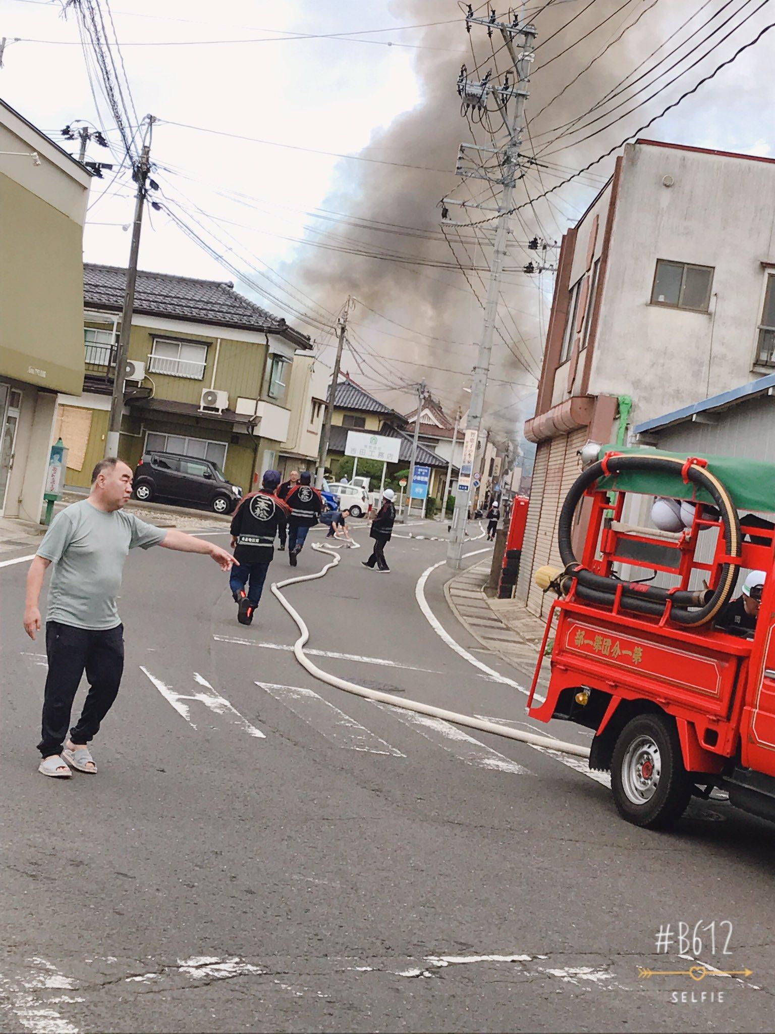 画像,朝から家の近く火事でやばい https://t.co/wrku3ExN0y。
