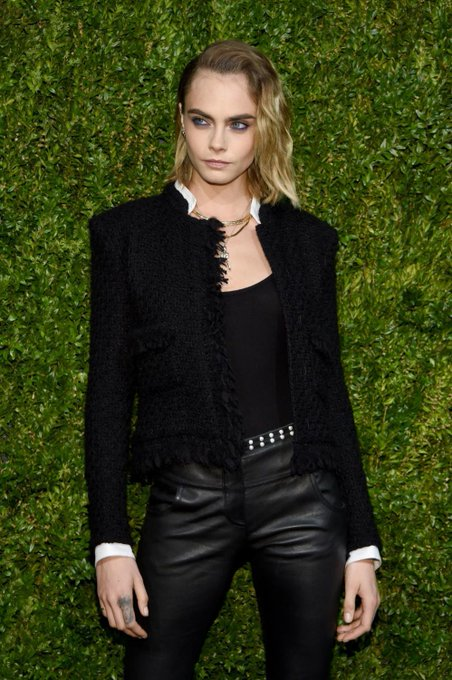 Happy birthday Cara Delevingne! The supermodel/actress turns 27 years old today.   © Getty Images
