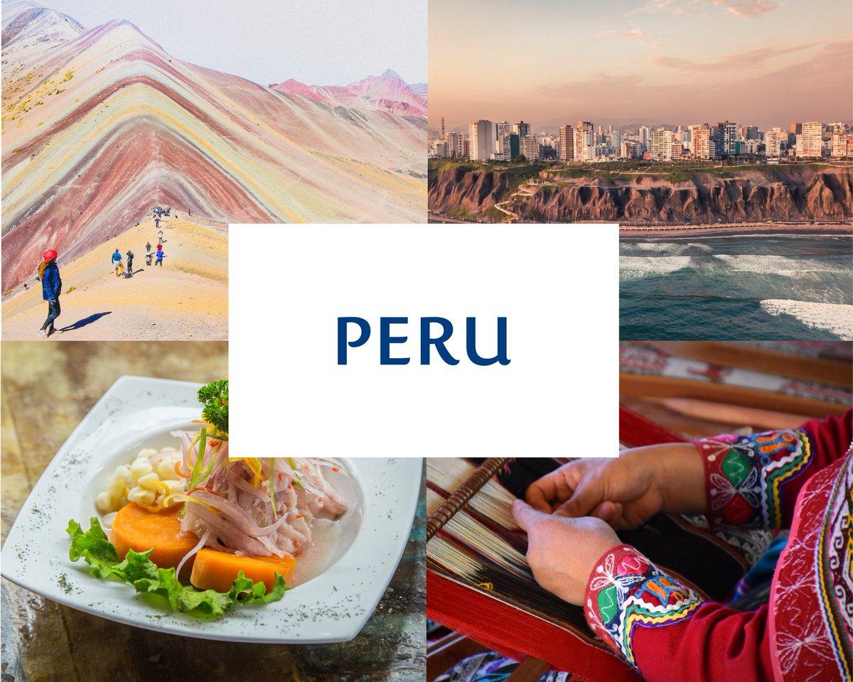 Uma verdadeira maravilha na América do Sul. O #Peru é um país cheio de tradições, culturas e idiomas. 😍👏 O que você está esperando para experimentar uma das melhores aventuras da sua vida? 👇 Reserve agora: https://t.co/8bQJUJ60NY https://t.co/qh1ltwHm1c