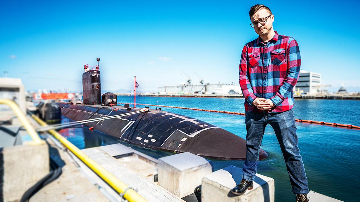 Thats me. Thats a nuclear submarine. I entered the USS Pasadena to explore the mathematically optimal Battleship strategy alongside one of the most highly-trained nuke techs in the world. [Watch now] --> youtu.be/LbALFZoRrw8 @americasnavy #sponsored