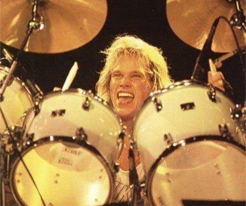 Such an amazing singer.. And legendary drummer!  Happy Birthday Ian Haugland!