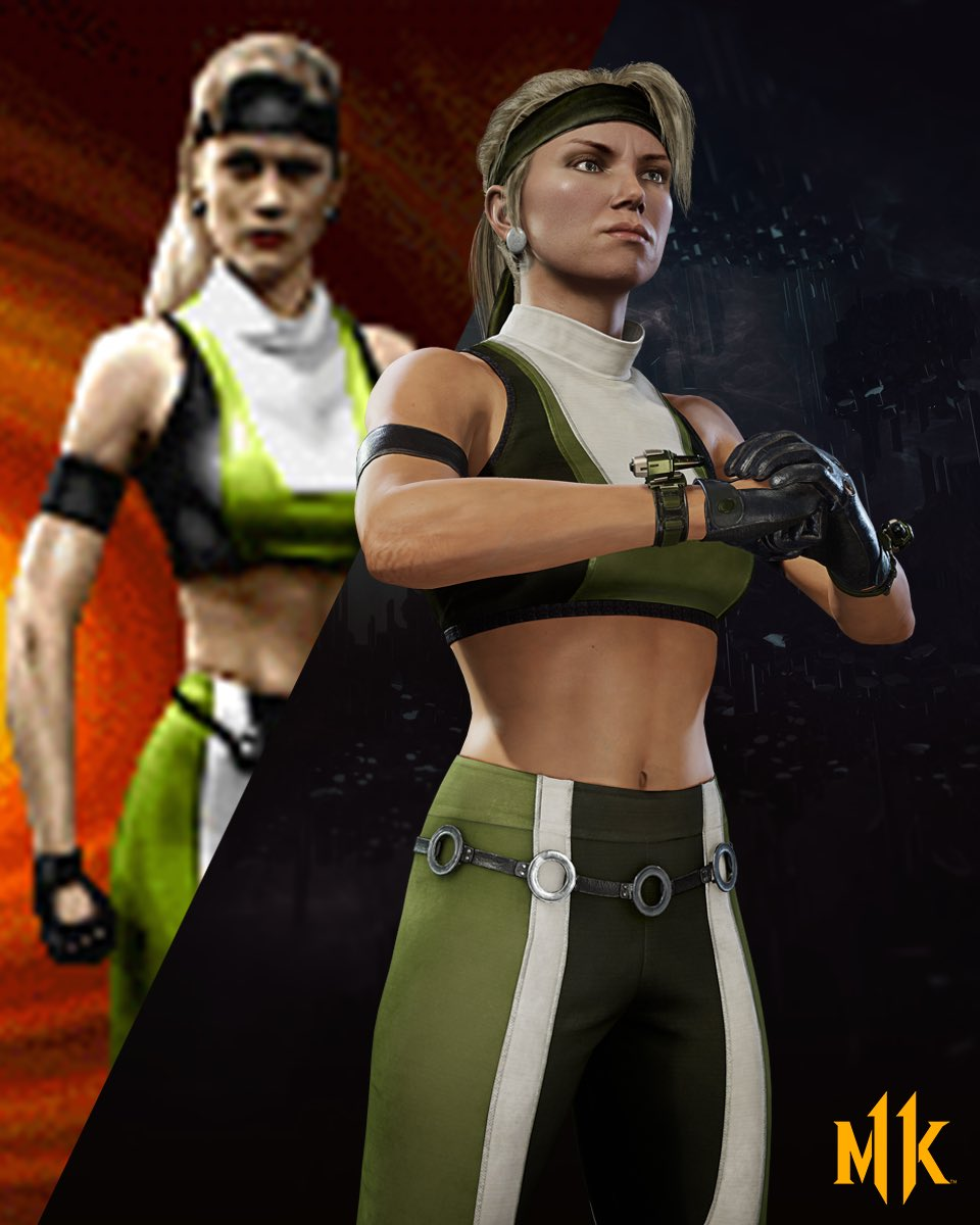 Tomorrow (8/13) Kombat Pack owners get both early access to NIGHTWOLF and the classic MK3 Sonya skin! <br>http://pic.twitter.com/LzYgloEwBI