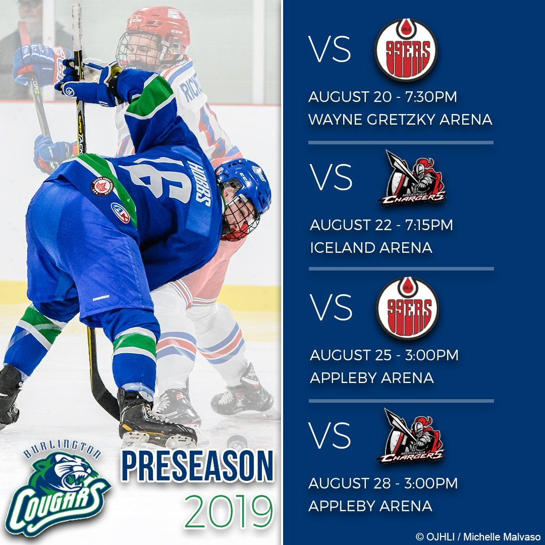 Media Tweets by Burlington Cougars (@OJHLCougars) | Twitter