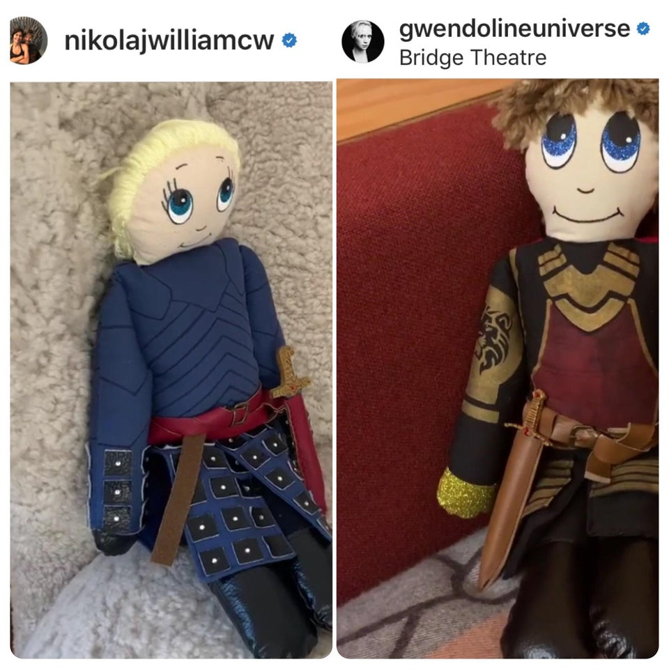 Maybe Doll! Brienne and Jaime can have a happy ending together. #GameofThrones #DemThrones #ThronesYall<br>http://pic.twitter.com/GQJ2Y6jajX