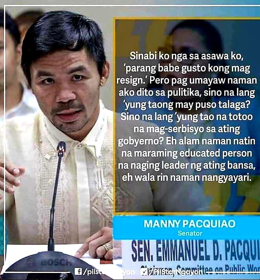 And what makes you think you can do better, you pompous moron?  @MannyPacquiao, you so stupid you can't even understand how stupid you are. <br>http://pic.twitter.com/xswJGooDxF