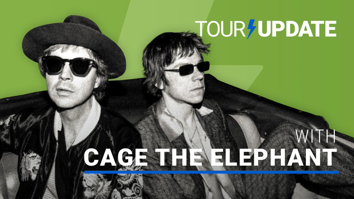 @setlistfm's photo on Cage the Elephant