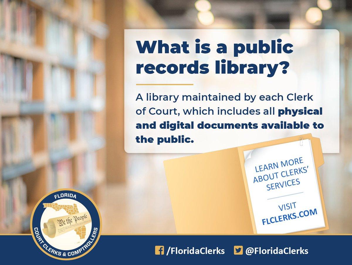 Florida Court Clerks & Comptrollers (@FloridaClerks)   Twitter