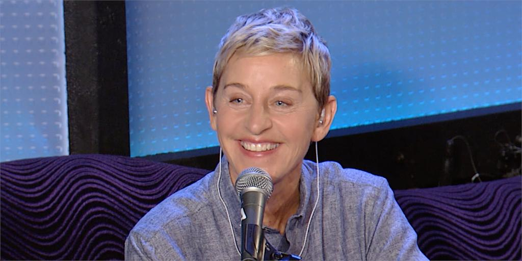 Today on #Howard100, hear Ellen DeGeneres talk with @HowardStern about her iconic