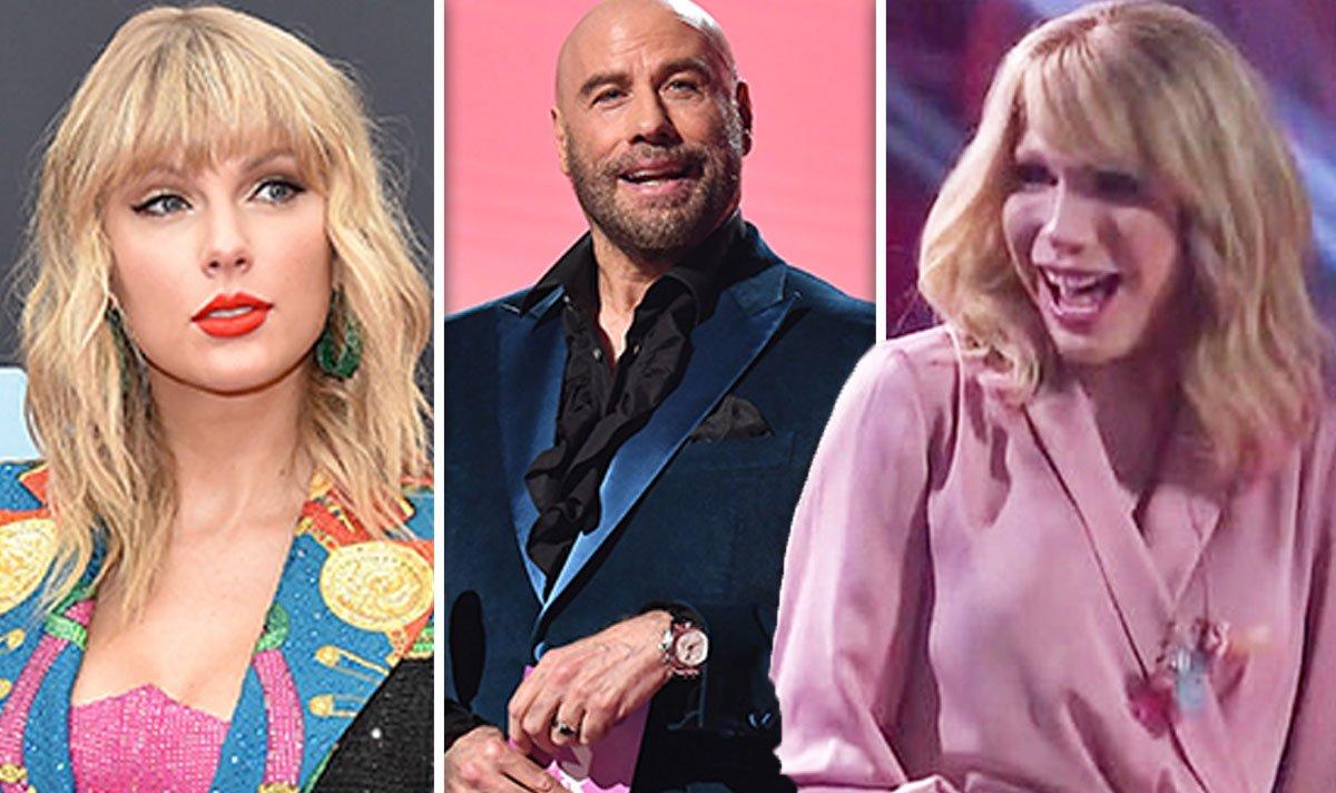John Travolta sparks backlash as he mistakes drag queen for VMAs 2019 winner Taylor Swift #JohnTravolta #VMAs2019 https://t.co/1MMs9QD1pD https://t.co/40Av7YhpC6