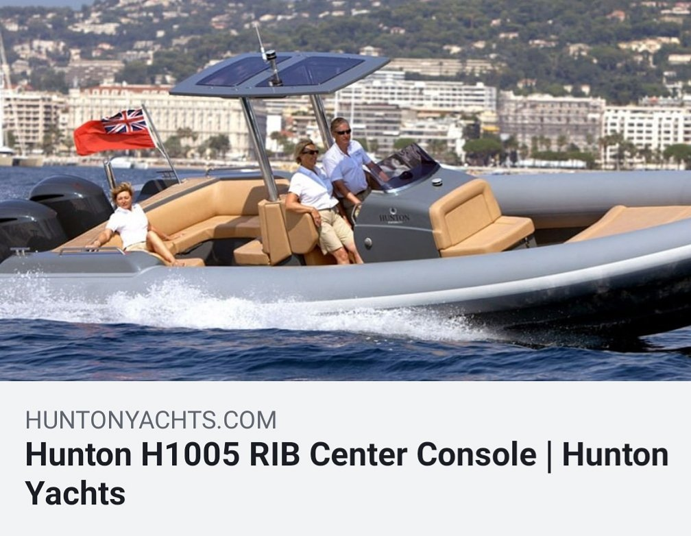 test Twitter Media - If you want real performance, handling stability and comfort, make it a Hunton Yachts H1005 Center Console RIB.  https://t.co/iZ7RBHZWWj  Info@huntonyachts.com or +1 203 253 2836 https://t.co/lD7wu5v5CI