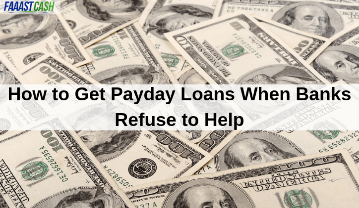 Here's how to get payday loans when banks refuse to help. #PaydayLoans  https://t.co/94U69b45qy https://t.co/7IKHtjxK9c