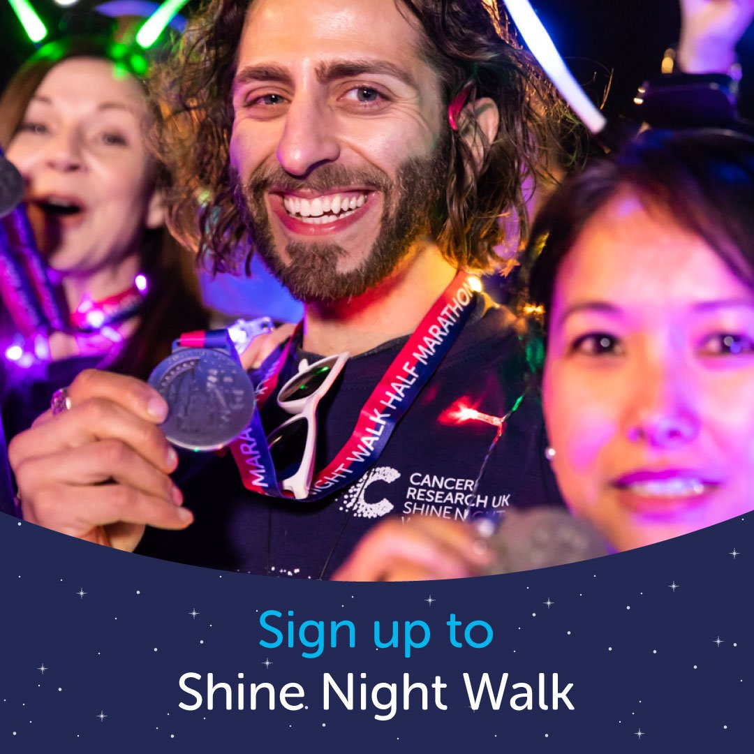 #ShineWalk is no ordinary event – it's walking through the night, lighting up the streets of Liverpool and raising money to help beat cancer. Sign up today: https://t.co/WNQruO2TpR @CRUKEventsNW https://t.co/vEcwWgzGLB