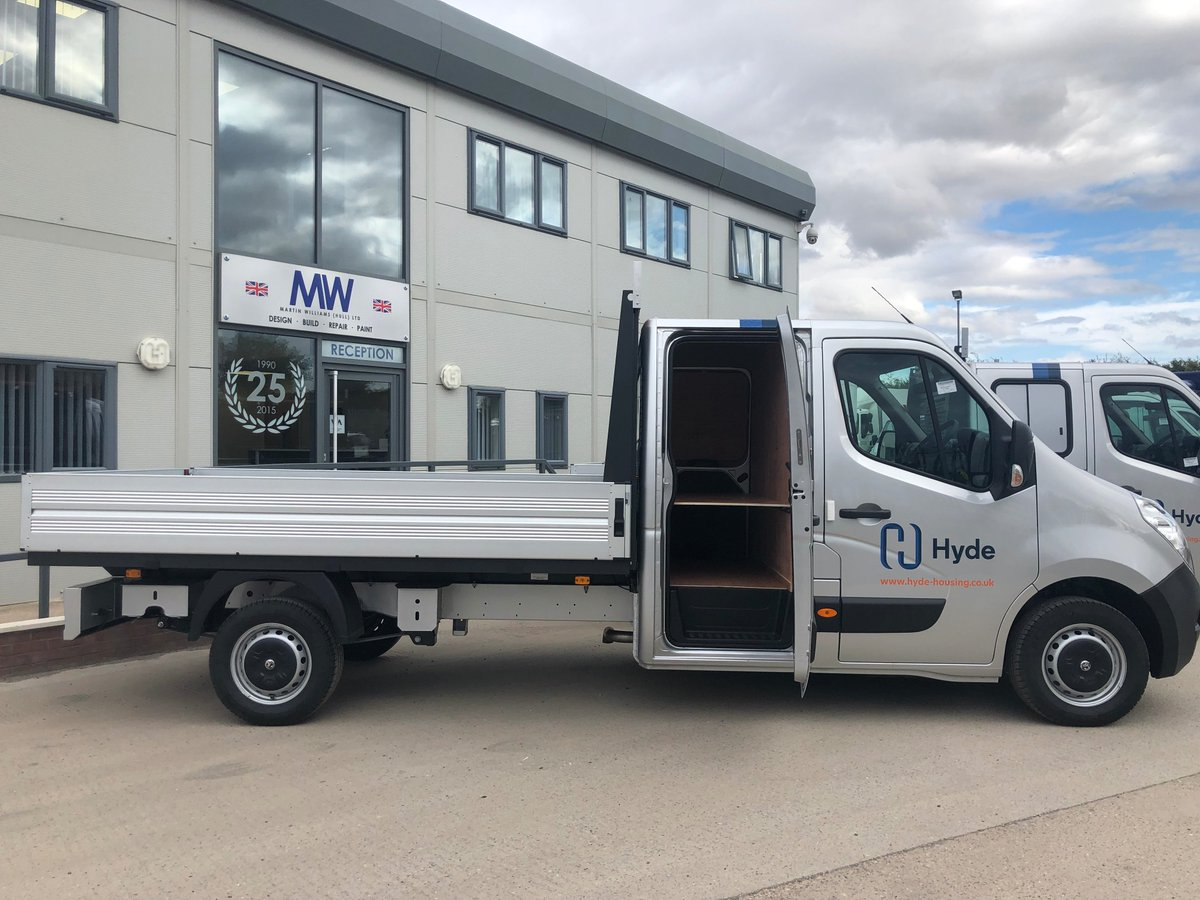test Twitter Media - 3.5t Vauxhall Movano Utility Cab Conversions on behalf of  @PentagonDG for @HydeHousing Modifications by MW Hull:  ☑️ Ply Lined - Utility cab   ☑️Fitted H Bars to headboard  ☑️Fitted Rear Parking sensors  ☑️Fitted Dead locks to utility cab doors   #Modifications #Conversions https://t.co/J8XL9pLd0L