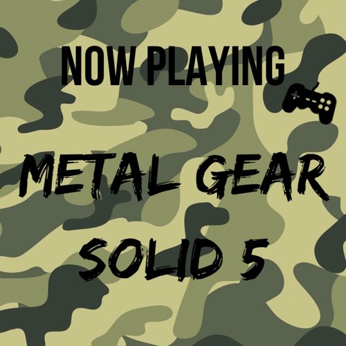 metalgearsolid5 tagged Tweets and Downloader | Twipu