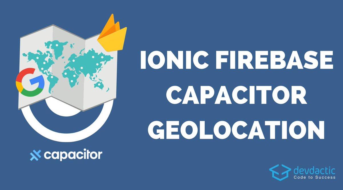 RT @schlimmson: Building an Ionic Firebase Location Tracker with Capacitor & Google Maps https://t.co/dkRMsmJdI9 https://t.co/QMKzlE3Uzi