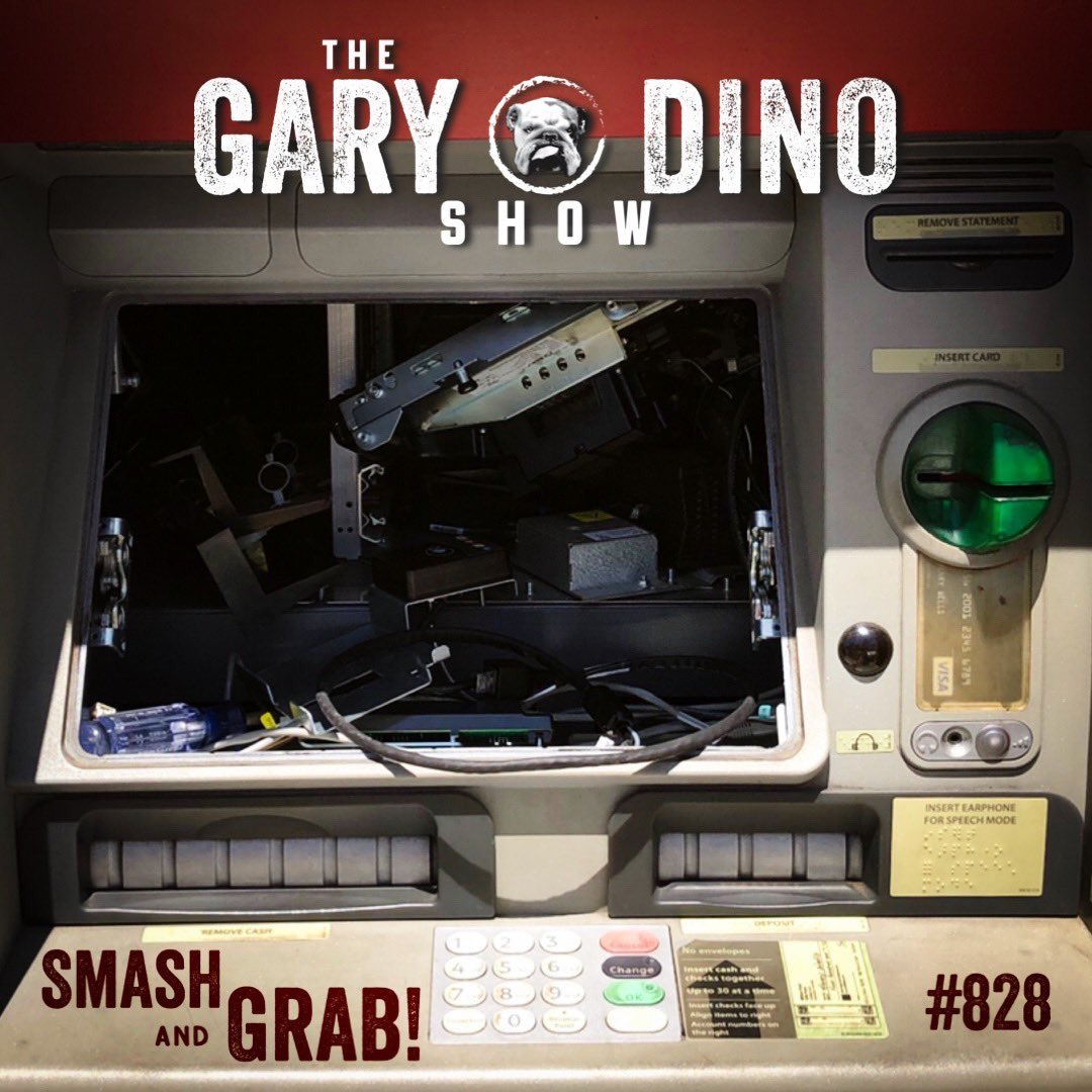 The Gary and Dino Show #828 - Smash and Grab!  Do you have an ex that thinks you aren't so bad after all?  Mexico City's Estadio Azteca soccer stadium has found its vendors reselling unfinished beer   DETAILS: https://t.co/qNAlwUizVR https://t.co/SteXVJGqrd