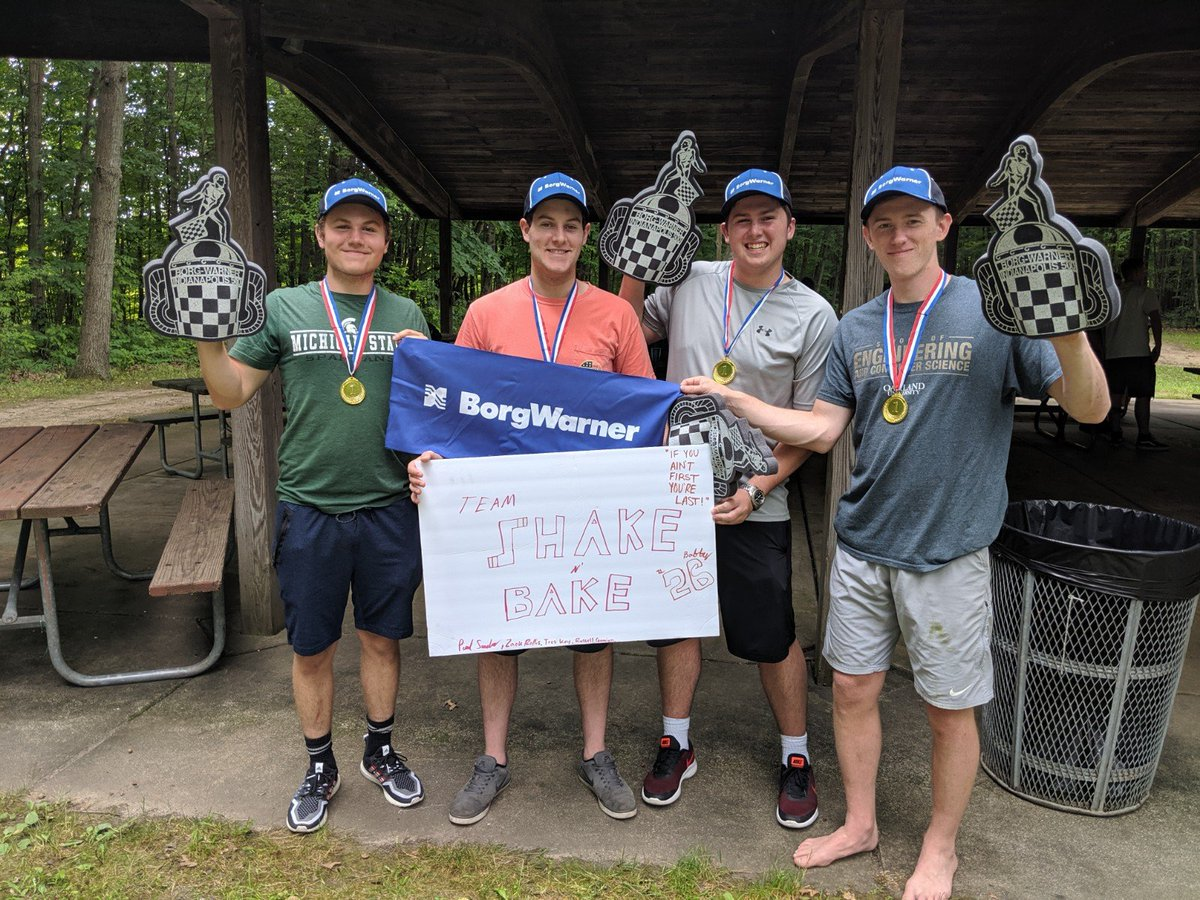 It's not all work and no play for our summer interns. Besides the real world work experience our interns get, last week they got to add fun and friendly competition to their schedule for the BorgWarner Intern Olympiad.