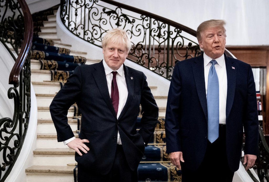 """This is what Chad and Brad look like in their old age when the pills stop working and the mind says """"the hell with it."""" #G7Summit"""