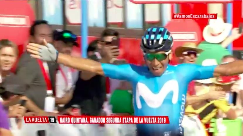 الدراج QUINTANA Nairo يفوز بالمرحلة
