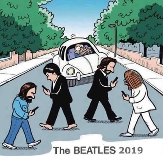 The Beatles 2019.