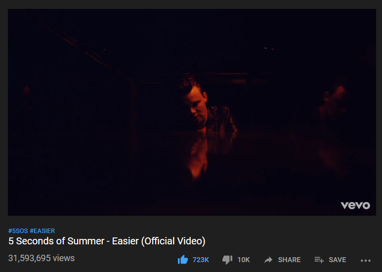 #EASIER music video surpassed 31.5M views on Youtube! youtube.com/watch?v=b1dFSW…