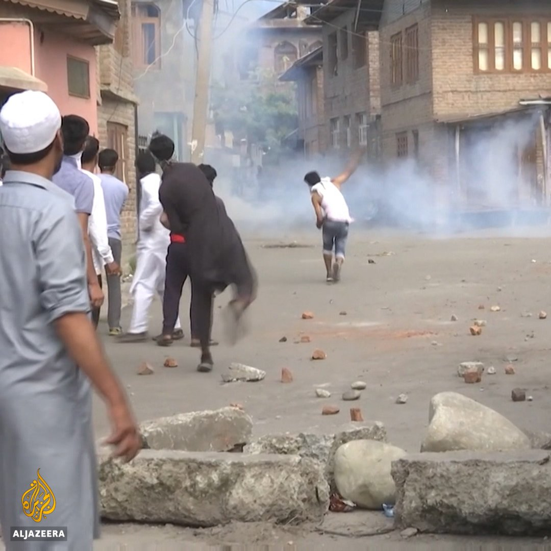 Friday prayers have taken a defiant tone in Srinagar, becoming a focal point for protests since India's decision to revoke Kashmirs autonomy. Many residents fear Indias Hindu-nationalist government plans to change the demographics of the Muslim-majority region.