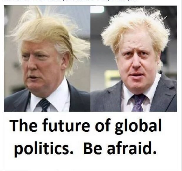 The rest of the G7 are now just carrying on with serious Business without the Clowns Act that is Johnson & Trump, how sad that this is the level the UK has now descended, an irrelevence #TrumpGibberish